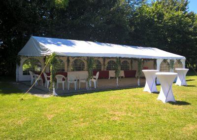 réception barnum réception barnum gite de La petite Chauvière Sarthe