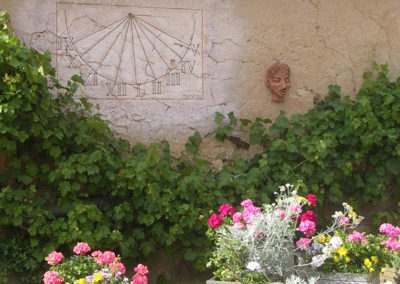 fleurs Gîte La petite Chauvière 72220