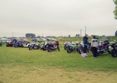 parking motos Gîte La petite Chauvière Sarthe