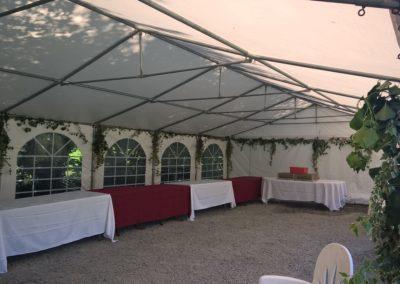 réception barnum gite de Laigné en Belin Sarthe